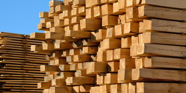 domestic softwood lumber yard